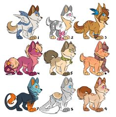 Puppy adoptables [OPEN] by Kamirah on deviantART