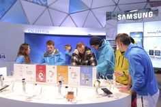 Purity supplied a carefully selected Samsung trained team with language skills to work at the pop-up Samsung Design Your Life Studios in the Alps. The Studios were in place for four to six weeks in each location either at the foot of the slopes or in the ski resorts themselves.
