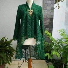 Abaya hijau Kebaya Lace, Kebaya Hijab, Kebaya Brokat, Batik Kebaya, Dress Brokat, Kebaya Dress, Kebaya Muslim, Kebaya Kutu Baru Modern, Modern Kebaya