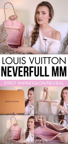 Neverfull MM Review. Louis Vuitton Unboxing & First Impression and Reveal. Angela Lanter Handbag Review. Neverfull with pink interior. #AngelaLanter #LouisVuitton #Neverfull #handbag #NeverfullMM Latest Fashion Trends LATEST FASHION TRENDS | IN.PINTEREST.COM ENTERTAINMENT #EDUCRATSWEB