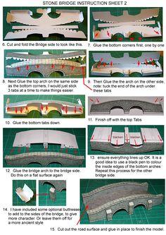 Instruction stone bridge 2