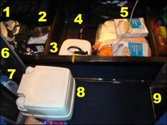 Creating a Small Kitchen and a Small Sink in a Truck without Plumbing: Mike and Vicki Simons share how to save money by cooking and eating in your truck, with just a little creativity and some available space in your truck's cab to make this work. From @Mike Tucker Tucker Tucker & Vicki Simons
