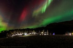 Ive never seen such a spectacular aurora with the red color in it and it was amazing to watch   Photograph Aurora magic by Terje Nilssen on 500p