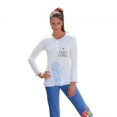 Pigiama donna maglia/pantalone.    Creazione e Produzione interamente Made in Italy Autentico.
