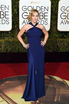 Leonardo DiCaprio et Kate Winslet câlins aux Golden Globes 2016 (Vidéo) Sexy Dresses, Oscar Dresses, Dresses For Less, Evening Dresses, Prom Gowns, Kate Winslet, Vestidos Oscar, Vestidos Sexy, Celebrity Inspired Dresses