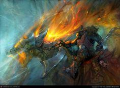Heavy Cavalry by Viktor Titov   2D   CGSociety