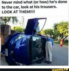 Yes but does anyone notice the guy climbing out of the car or the reflection of what looks like someone sitting sideways at the drivers seat? Lol.