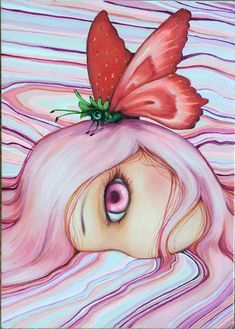 Strawberries and Shortcakes by camilladerrico on deviantART