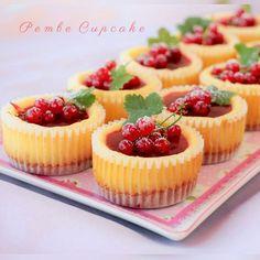 Frenk Üzümlü Mini Cheesecake