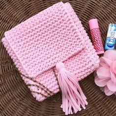 (26) Купить Сумочка-планшет из трикотажной пряжи - вязаная сумка, сумка ручной работы, сумка женская | Надо попробовать | Pinterest