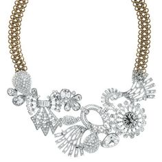 Multi Deco Stone Collar Necklace by Chloe + Isabel