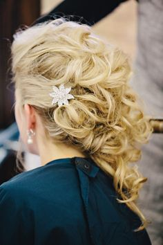 Bridal hair: http://www.stylemepretty.com/little-black-book-blog/2013/10/08/grand-rapids-wedding-from-k-holly-photography-2/ | Photography: K. Holly - http://www.kholly.com/