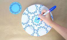 Geometric Patterns #plateideas #craft