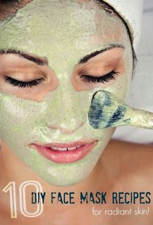 10 DIY face mask recipes: http://pinterestspics.blogspot.se/