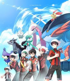 Ruby is one of my favorite fictional characters in the Pokemon universe. His story and character development in the special comics are incredibly well-done. Pokemon Rosa, Pokemon Mew, Pokemon Fusion, Pokemon Manga, Pokemon Comics, Pokemon Funny, Pokemon Fan Art, Pokemon Especial, Pokemon Adventures Manga