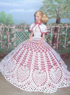 Häkeln Sie Mode Puppe Barbie Pattern 562 von JudysDollPatterns