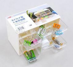 9 решетки мини хранения рабочего ящик ящик для хранения 1 шт., принадлежащий категории Коробки и лотки для хранения и относящийся к Для дома и сада на сайте AliExpress.com | Alibaba Group