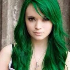 Not a color I would have picked, but it looks great on her! #hair