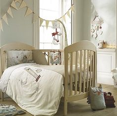 Light Of The Moon Cot/Bed Quilt & Pillowcase Set
