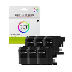TCT Compatible Ink Cartridge Replacement for Brother Black Works with Brother Printers Pages) - 6 Pack Brother Mfc, Ink Cartridges, Toner Cartridge, Printers, True Colors, Oem, It Works, Nailed It