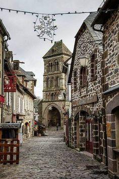 Salers, Auvergne. France