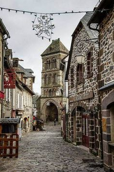 Salers, Auvergne. France