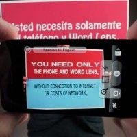 """Google quiere traducir textos impresos """"con la mirada"""""""