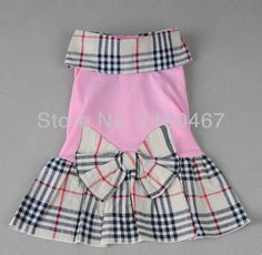 HKAUS Pets Grid Dress Cat Bow Tutu Pink Skirt for Little Dog (S) * Learn more by visiting the image link. (This is an affiliate link) Dog Dresses, Cute Dresses, Dog Clothes Patterns, Puppy Clothes, Mini Vestidos, Dog Wear, Pink Dog, Animal Fashion, Pets