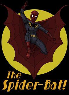 The Spider-Bat! by Stark-liverbird on DeviantArt