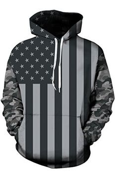 American flag hoodie with cammo sleeves                      – FREEDOM GEAR