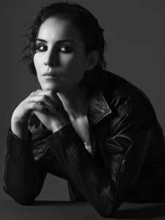 Noomi Rapace...I'm really impressed with her performance in Girl with a Dragon Tattoo