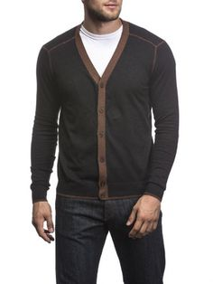 Agave San Francisco Button-down Cardigan Sweater-11 Main