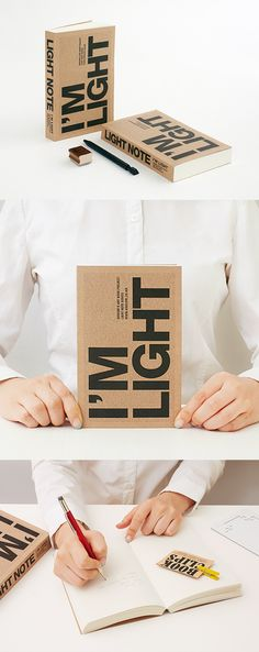 Perfect as your everyday notebook because you can carry this light and compact notebook with you at all times!
