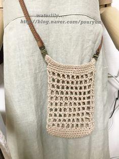 Hand Knitting, Knitting Patterns, Crochet Patterns, Crochet Phone Cover, Yarn Bag, String Bag, Macrame Bag, Crochet Handbags, Filets