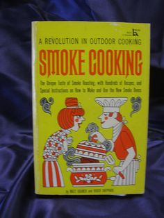Vintage 1967 Smoke Cookbook by RhinoBookseller on Etsy, $6.00