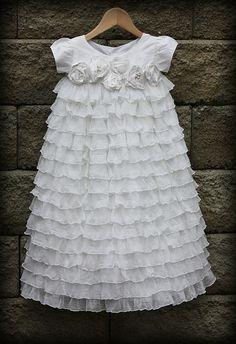 blessing dress {from an etsy shop, but it's no longer available} Buy yardage from ruffle shop - make my own.
