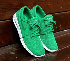 Nike SB Janoski Max-Pine Green-White