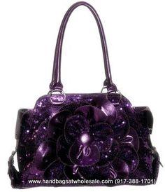 Purple pocketbook