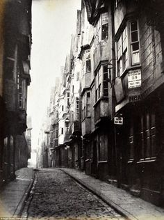 This photo shows Host Street in Bristol. It provides a glimpse into the past as much of th...
