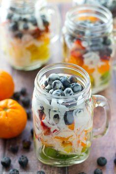 Rainbow Fruit Salad
