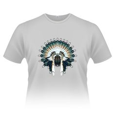 Blue Beaded War Bonnet