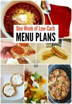 How to Get Started on Low-Carb: A One-Week Menu Plan