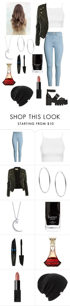 """""""Lana Del Ray is queen"""" by crazymofo34 ❤ liked on Polyvore featuring H&M, Topshop, CO, Michael Kors, Butter London, Max Factor, NARS Cosmetics, Coal and Windsor Smith"""