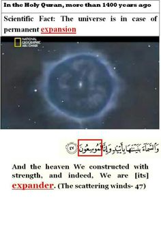 Miracles of the Holy Quran. Quran Verses, Quran Quotes, Islamic Quotes, Qoutes, Islam And Science, Science Facts, Miracles Of Islam, Islamic Miracles, Noble Quran