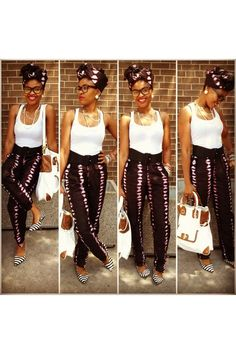 Sooo love this AFRICAN PRINT!!! Will be making this before year is up.!