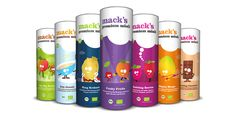 Mack's Premium Müsli — The Dieline