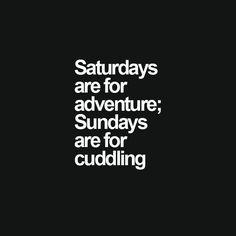 Sundays are for cuddling <3