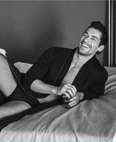 David Gandy Autography x Marks and Spencer loungewear collection. David Gandy is back with another Autograph clothing line. See and Shop all the clothing. David Gandy 2017, David James Gandy, James Dean, Models Men, The Fashionisto, True Gentleman, Gq Magazine, Supermodels, Lounge Wear