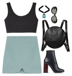 """""""Untitled #6475"""" by heynathalie ❤ liked on Polyvore featuring Monki, Paul Smith and Acne Studios"""