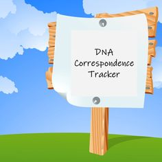 I use this to track my correspondence with my DNA matches and I wanted to share it with you. As an added Bonus there is a genealogy correspondence tracker tab as well #DNA #Genealogy Tracker Free, Dna Genealogy, Home Free, Just In Case, About Me Blog